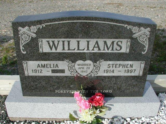 WILLIAMS, Stephen (1997) & Amelia STM03-9418
