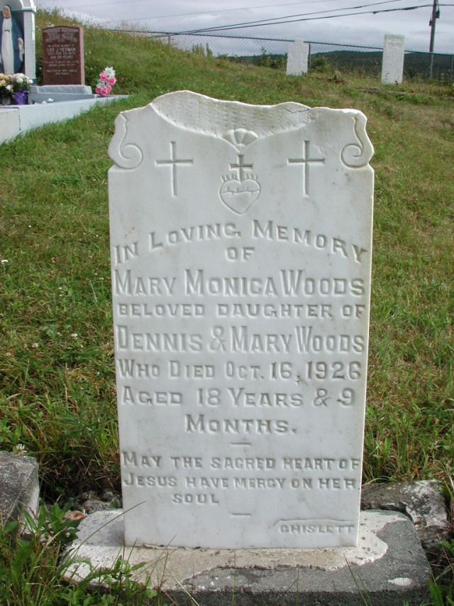WOODS, Mary Monica (1926) STM01-2439