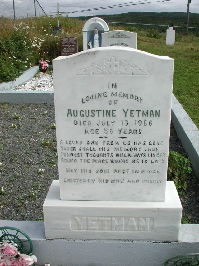 YETMAN, Augustine (1968) STM01-2437