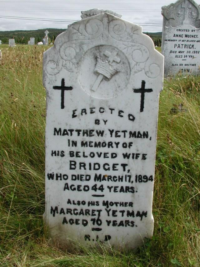 YETMAN, Bridget (1894) & Margaret STM01-8201