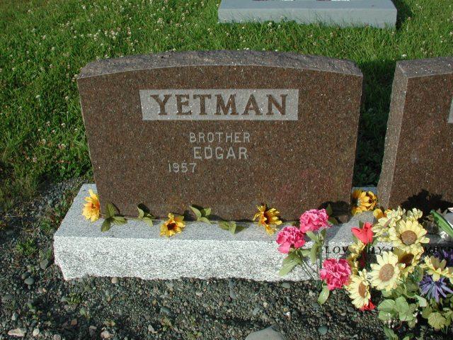 YETMAN, Edgar (xxxx) STM03-3675