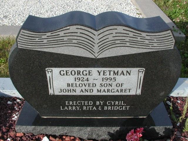 YETMAN, George (1995) STM03-9413
