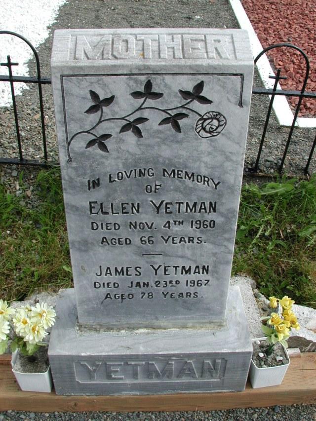 YETMAN, James (1967) & Ellen (1960) STM01-8275