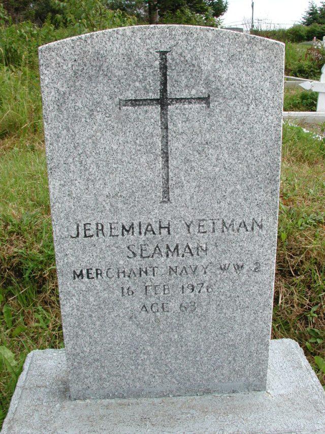 YETMAN, Jeremiah (1976) STM01-8312