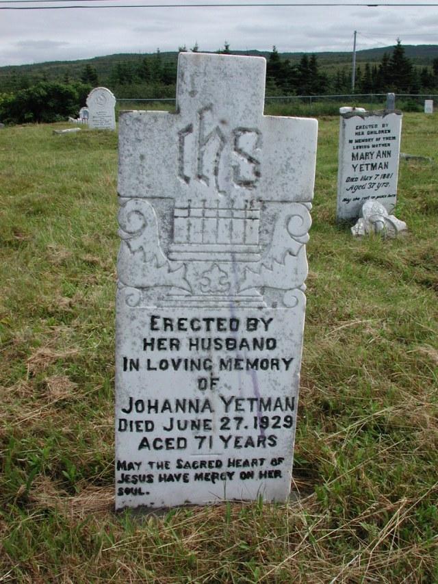 YETMAN, Johanna (1929) STM01-2370