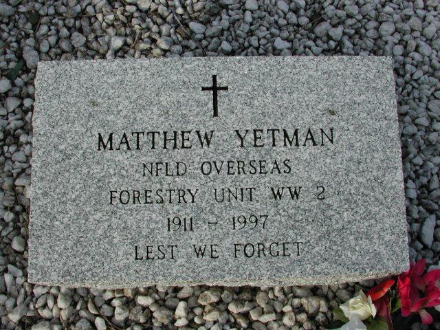 YETMAN, Matthew (1997) STM03-9511