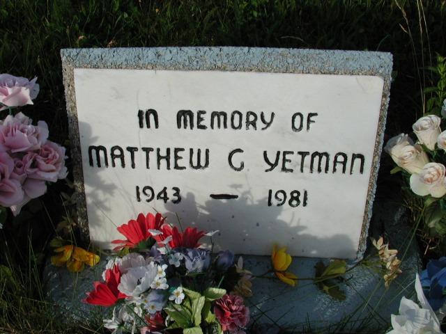 YETMAN, Matthew G (1981) STM03-9509