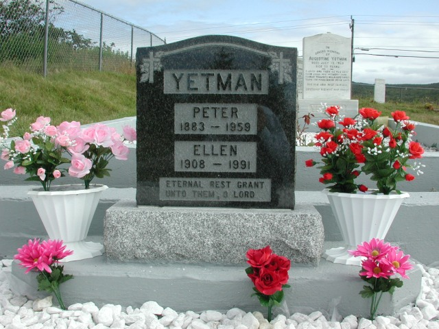 YETMAN, Peter (1959) & Ellen (1991) STM01-2457