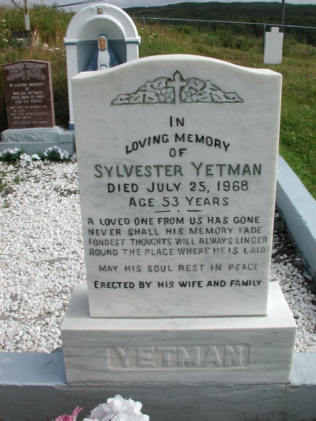 YETMAN, Sylvester (1968) STM01-2436