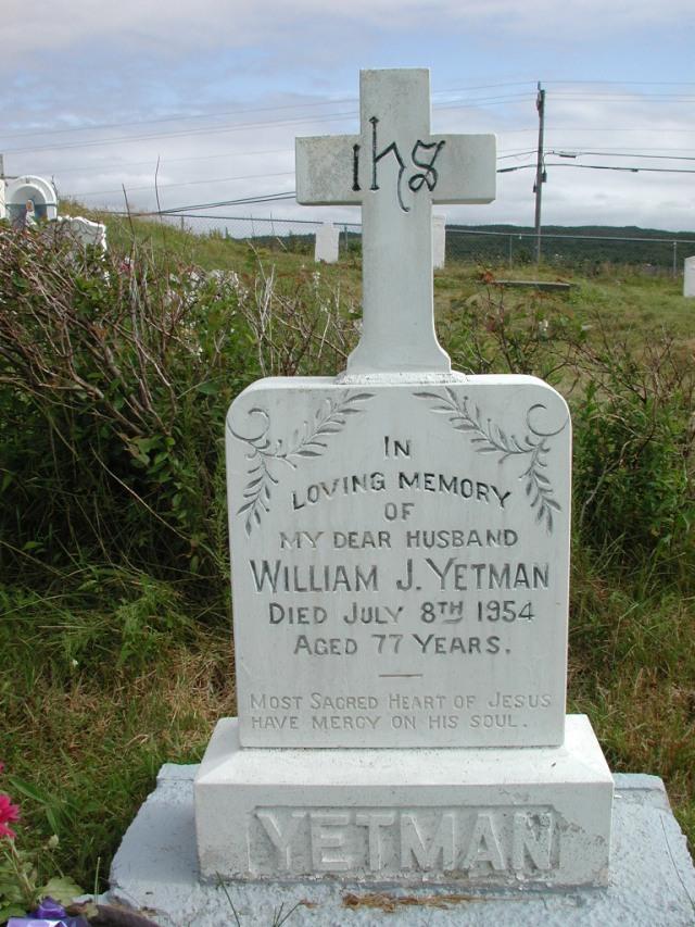 YETMAN, William J (1954) STM01-2456
