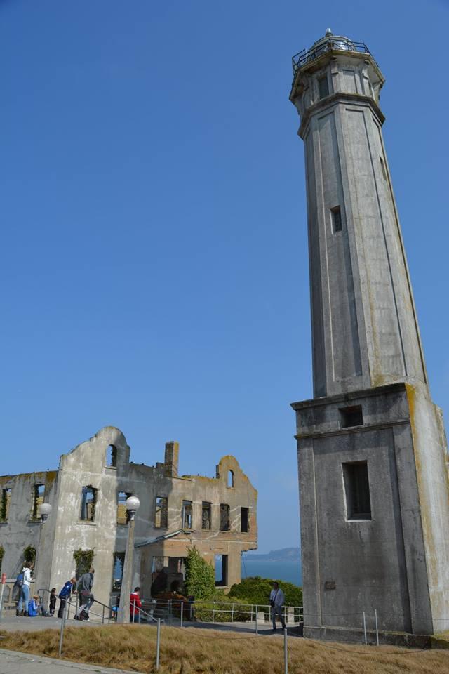Alcatraz Island, Aug 2018 Vacation upclose