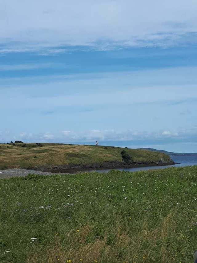 Lighthouse colinet island