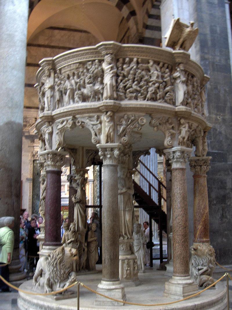 800px-Pisa.Duomo.pulpit.Pisano01