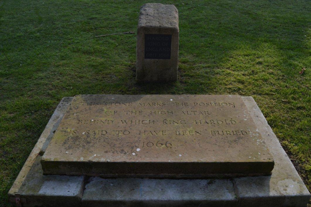 Burial site of King Harold