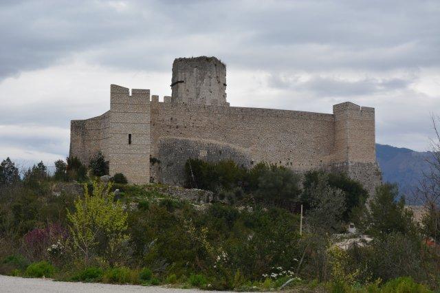 Castle near Mount Cassino