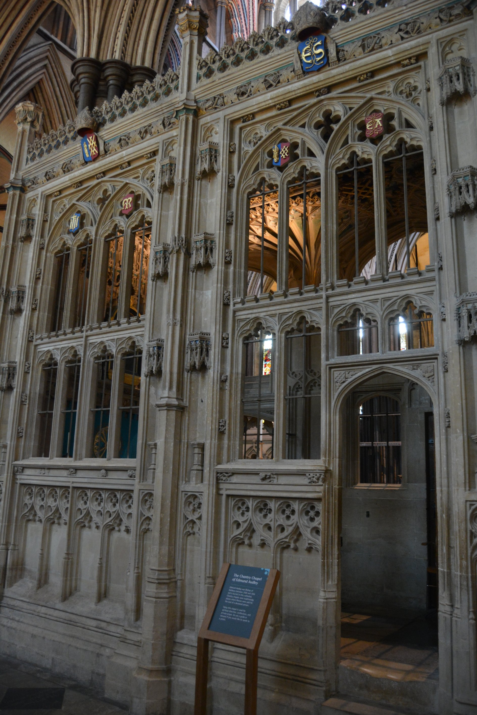 Chantry Chapel of Edmund Audley