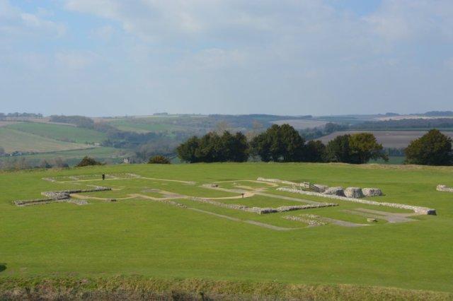 Old Sarum Castle location Wiltshire 3