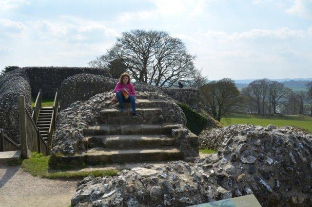 Old Sarum Castle location Wiltshire 4