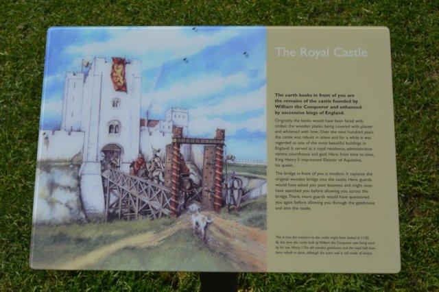 Old Sarum Castle location Wiltshire 6