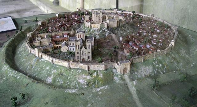 Orginal Old Sarcum castle