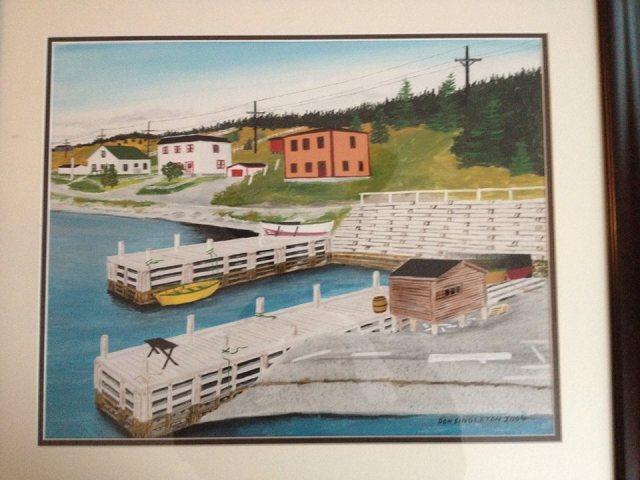 Duggan's Wharf by Donald Singleton