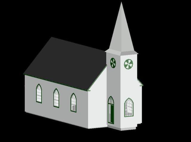 Regina church model