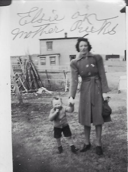 thumbnail_Elsie Singleton of St.Joseph's. She was a school teacher on Colinet Island probably before World War 2