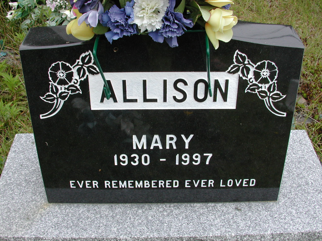 ALLISON, Mary (1997) RIV01-8037