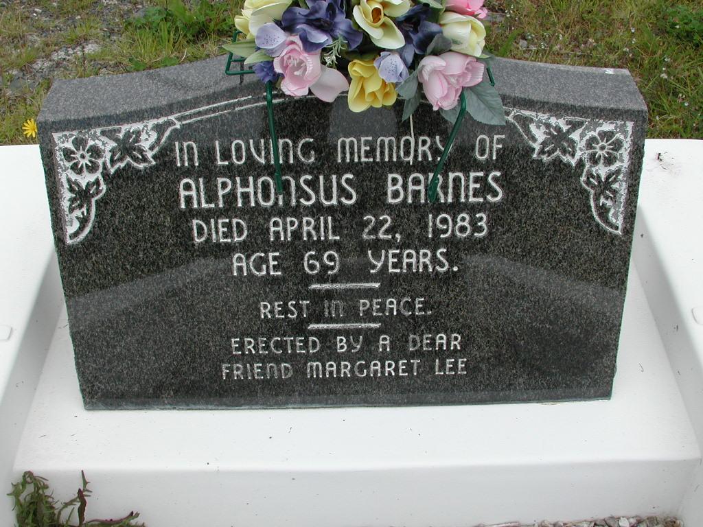 BARNES, Alphonsus (1983) RIV01-8040