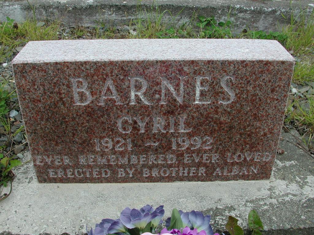 BARNES, Cyril (1992) RIV01-8026