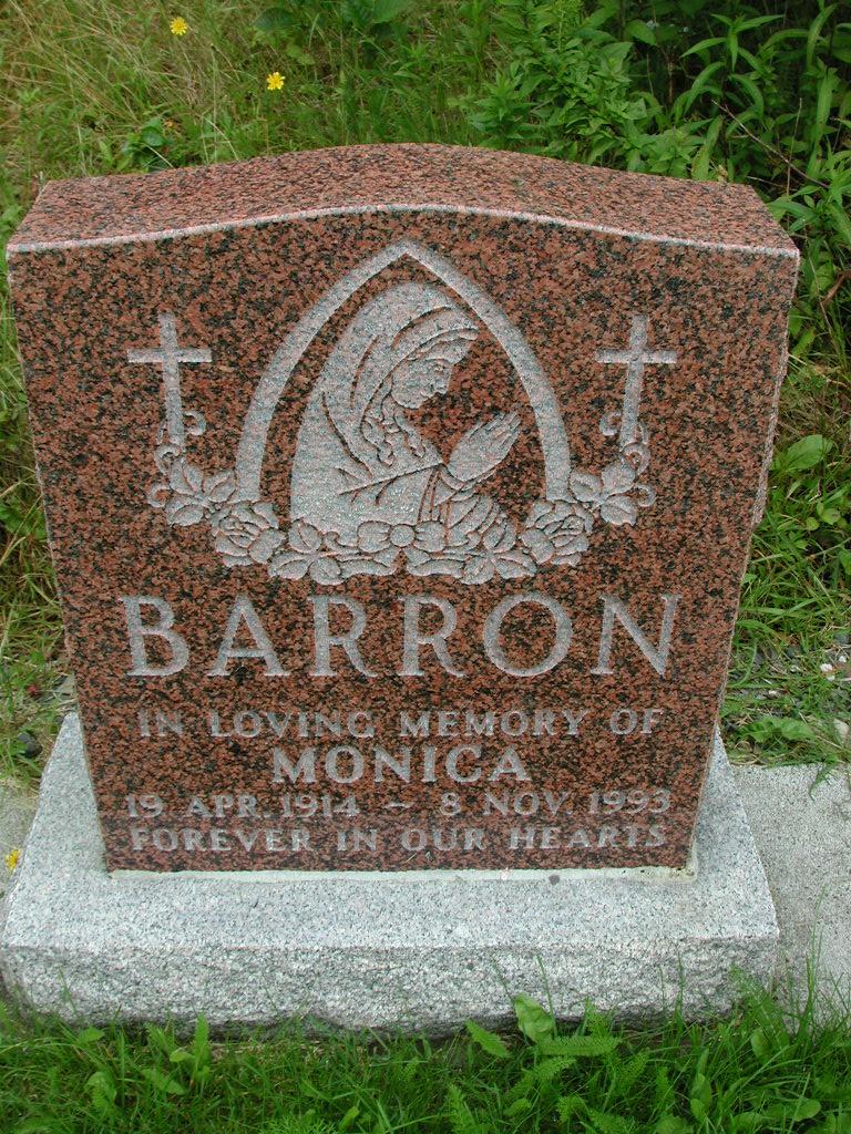 BARRON, Monica (1993) RIV01-8015