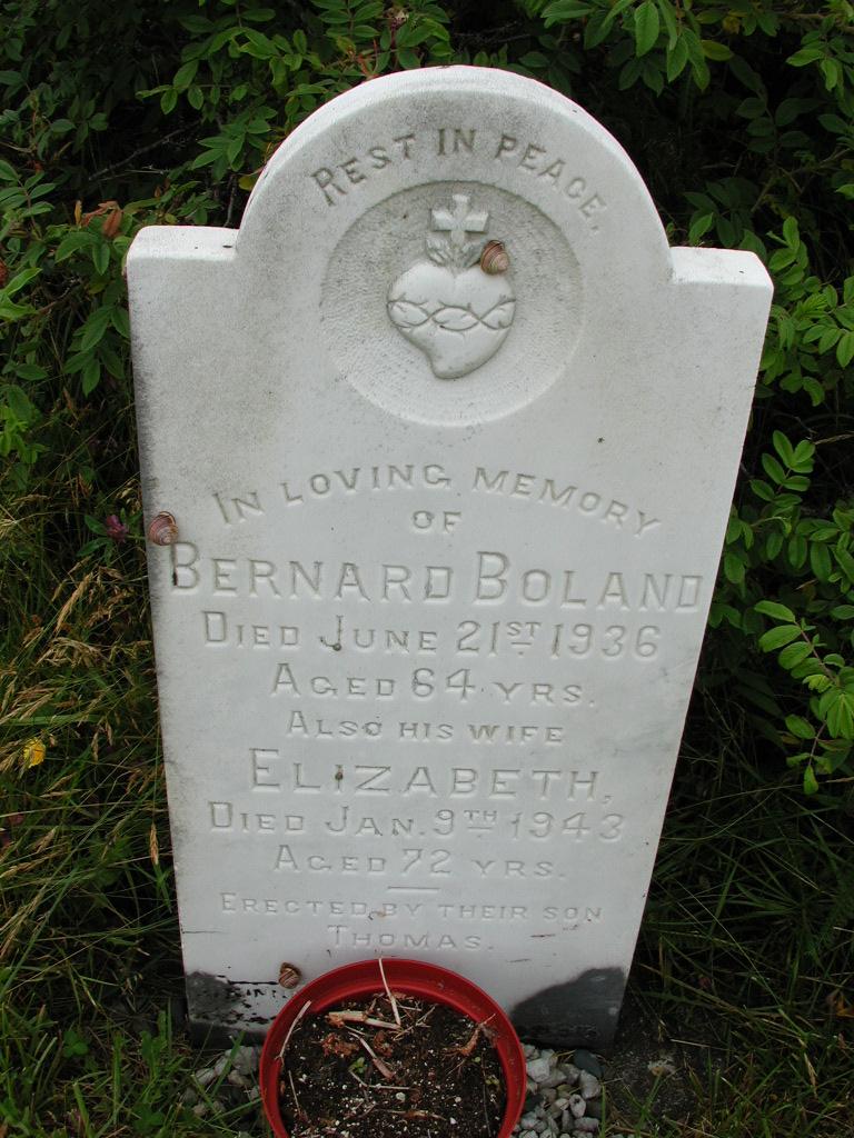 BOLAND, Bernard (1936) & Elizabeth (1943) RIV01-7927