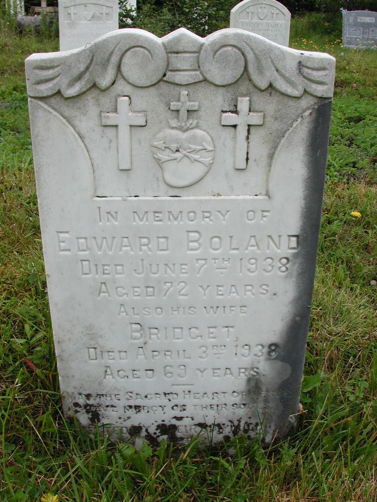 BOLAND, Edward (1938) & Bridget (1938) RIV01-7930