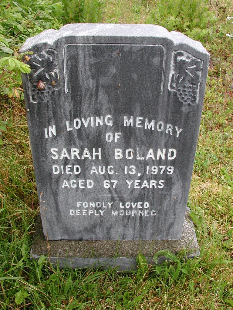 BOLAND, Sarah (1979) RIV01-7860