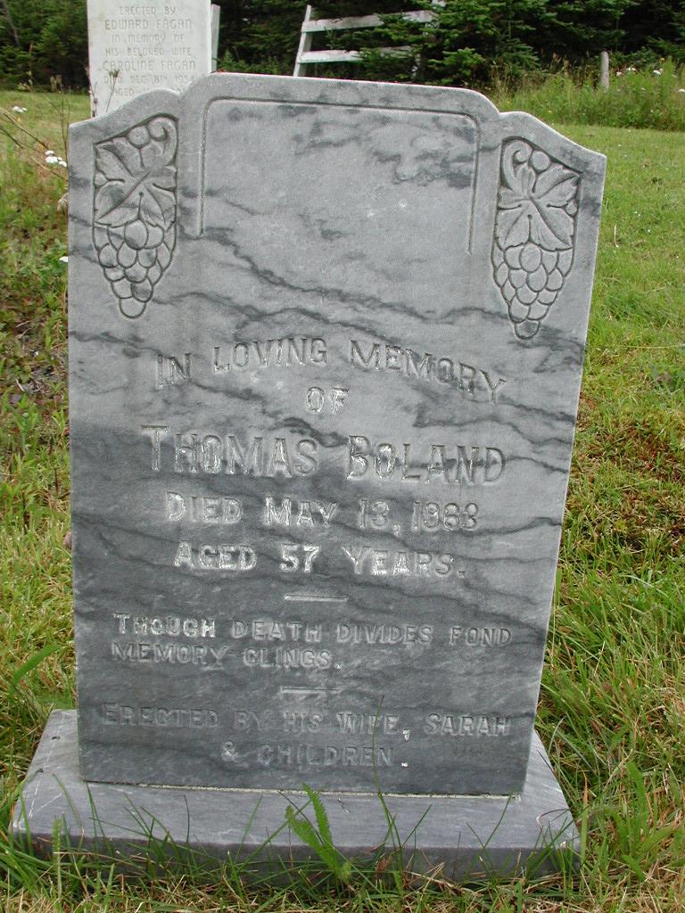BOLAND, Thomas (1963) RIV01-7861
