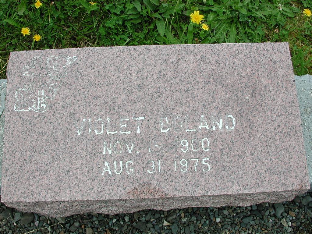 BOLAND, Violet (1975) RIV01-7922