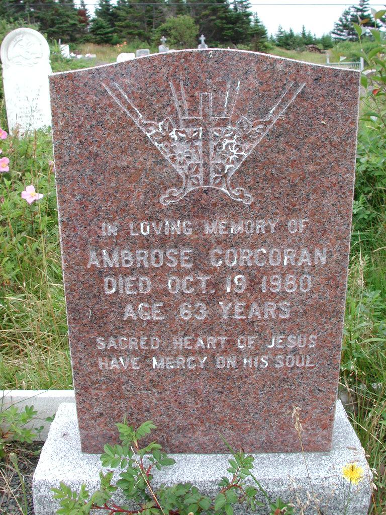 CORCORAN, Ambrose (1980) RIV01-2189
