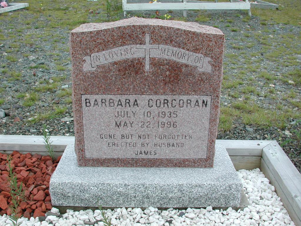 CORCORAN, Barbara (1996) RIV01-2222