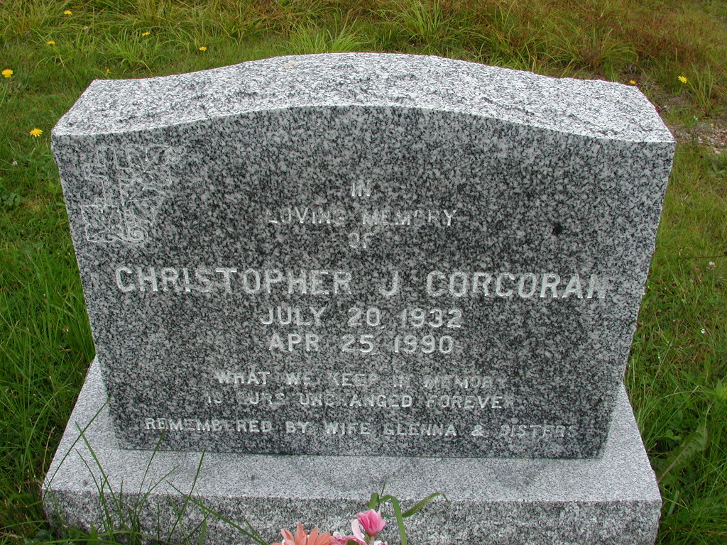 CORCORAN, Christopher J (1990) RIV01-7868