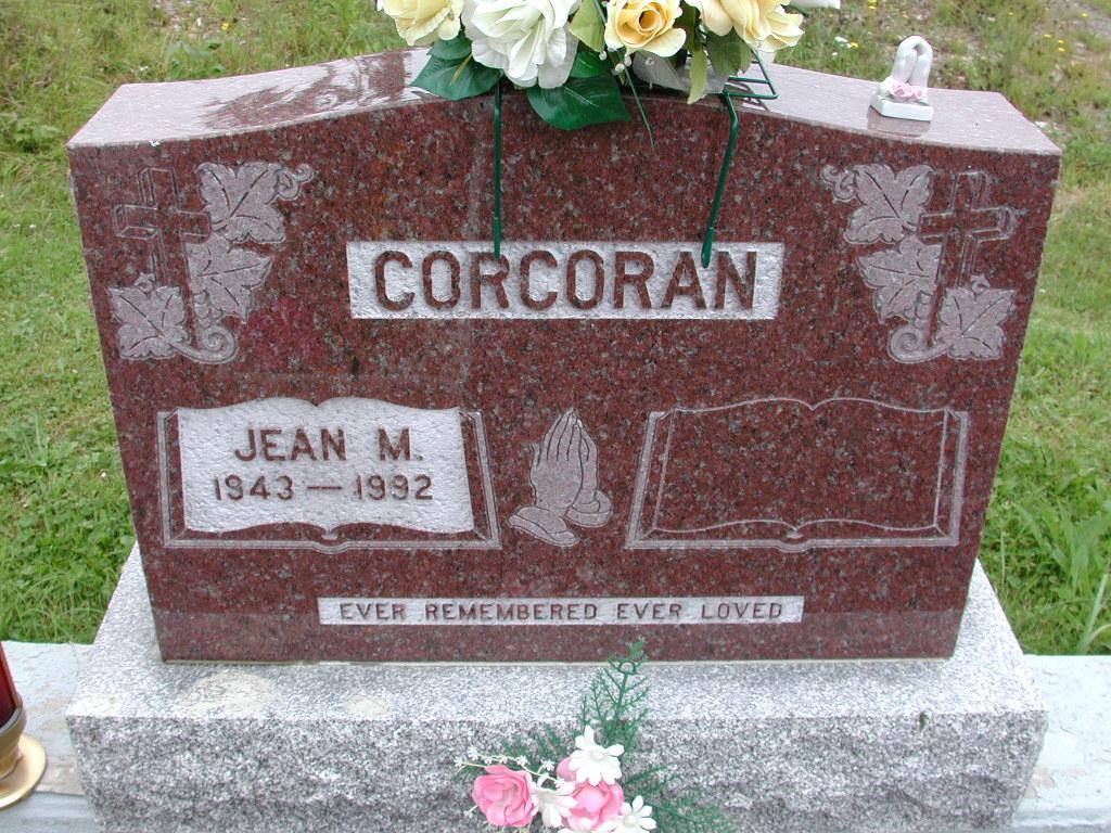 CORCORAN, Jean M (1992) RIV01-7941