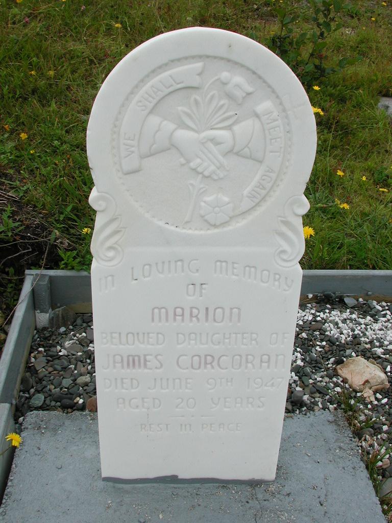 CORCORAN, Marion (1947) RIV01-7913