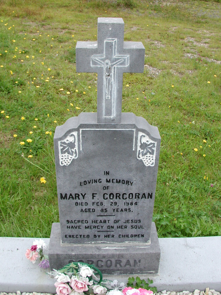 CORCORAN, Mary F (1984) RIV01-7920