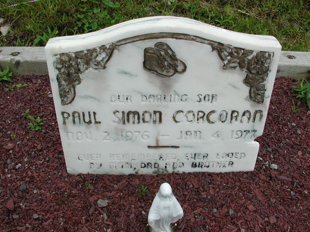 CORCORAN, Paul Simon (1977) RIV01-8012