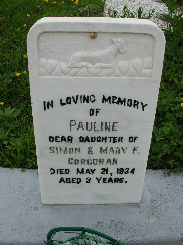 CORCORAN, Pauline (1934) RIV01-7918