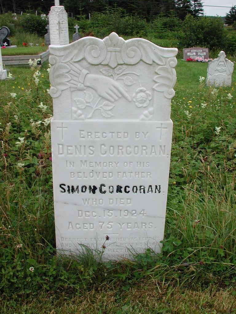 CORCORAN, Simon (1924) RIV01-2116
