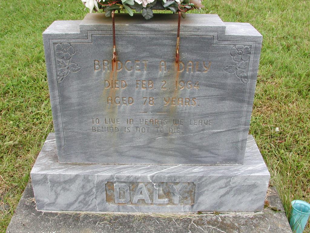 DALY, Bridget A (1964) RIV01-7828