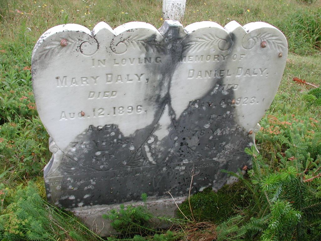 DALY, Daniel (1923) & Mary (1896) RIV01-2125