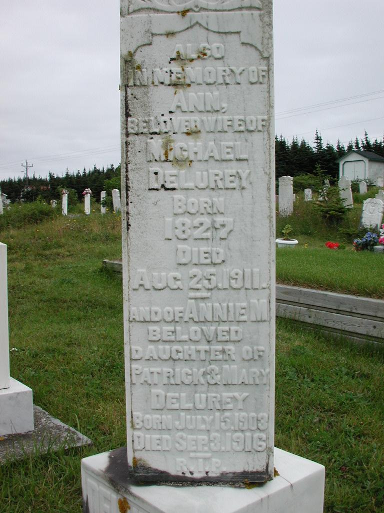 DELUREY, Ann (1911) & Annie M (1916) RIV01-2182