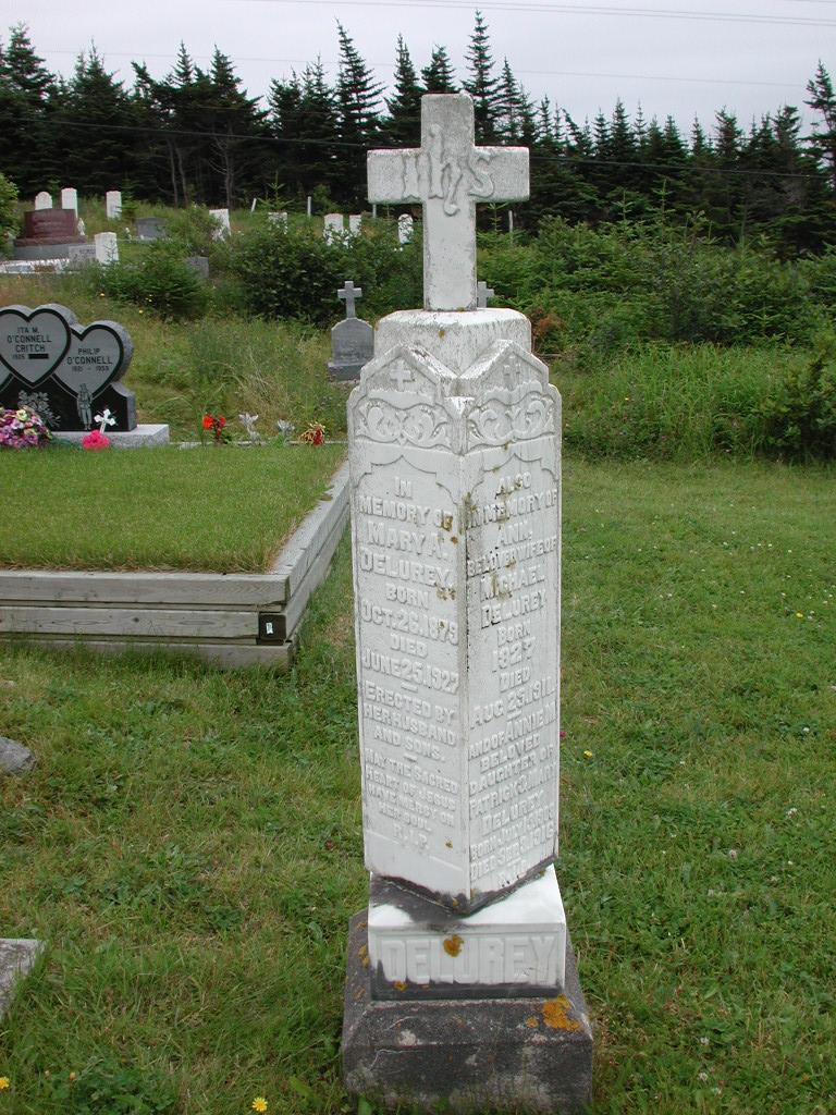 DELUREY, Ann (1911) & Annie M & Mary A RIV01-2180