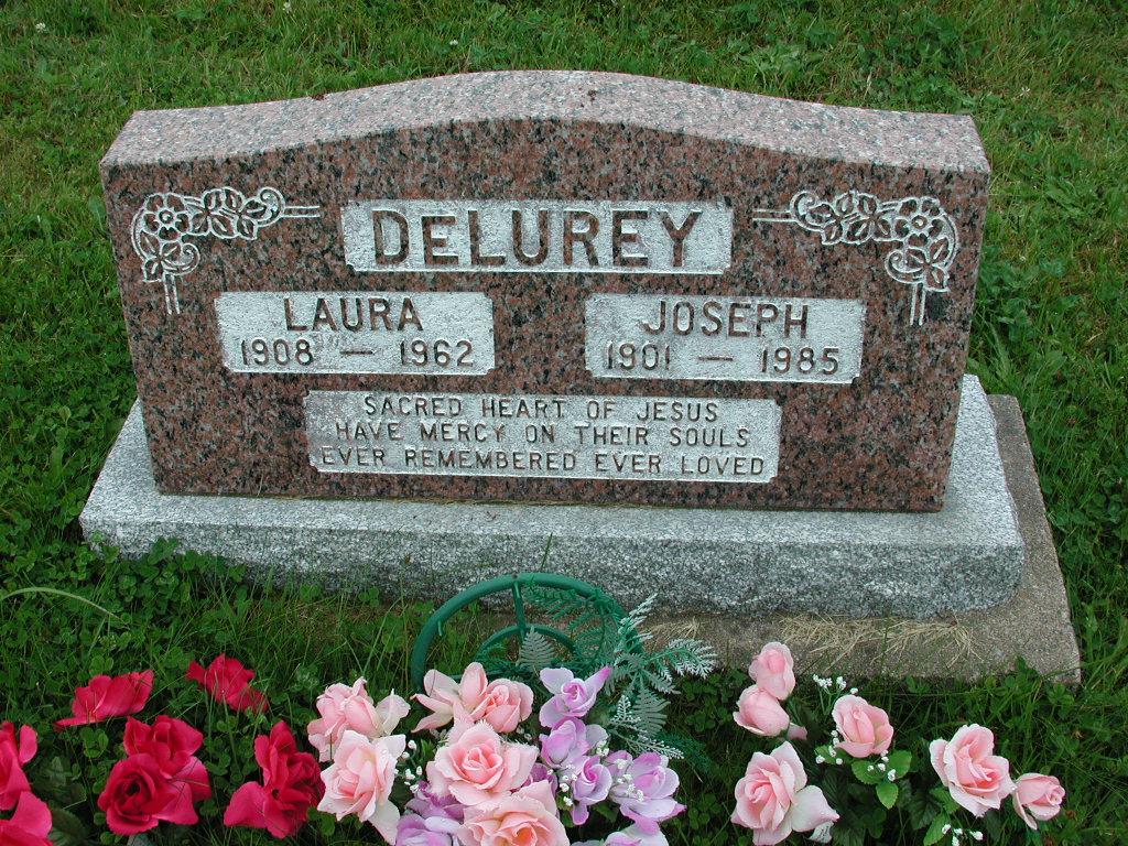 DELUREY, Joseph (1985) & Laura (1962) RIV01-2205
